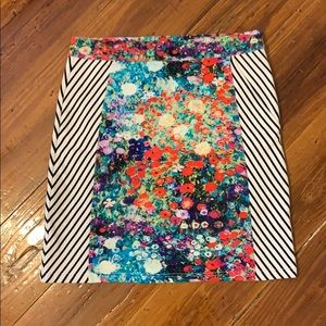 Anthropologie Tabitha Printed Skirt